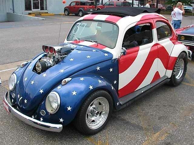 American Muscle Bug Volkswagen Beetle Volkswagen Vw Beetles