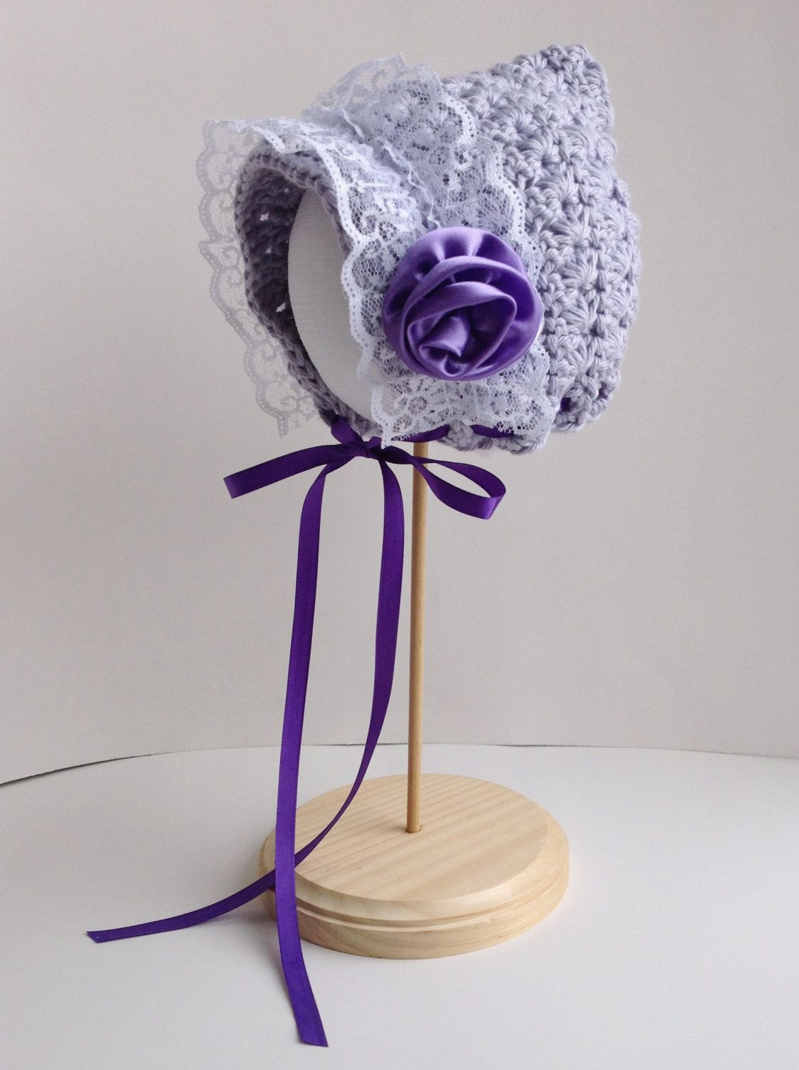 Crochet Pattern for Star Stitch Pixie Bonnet Hat - 4 sizes, baby to ...