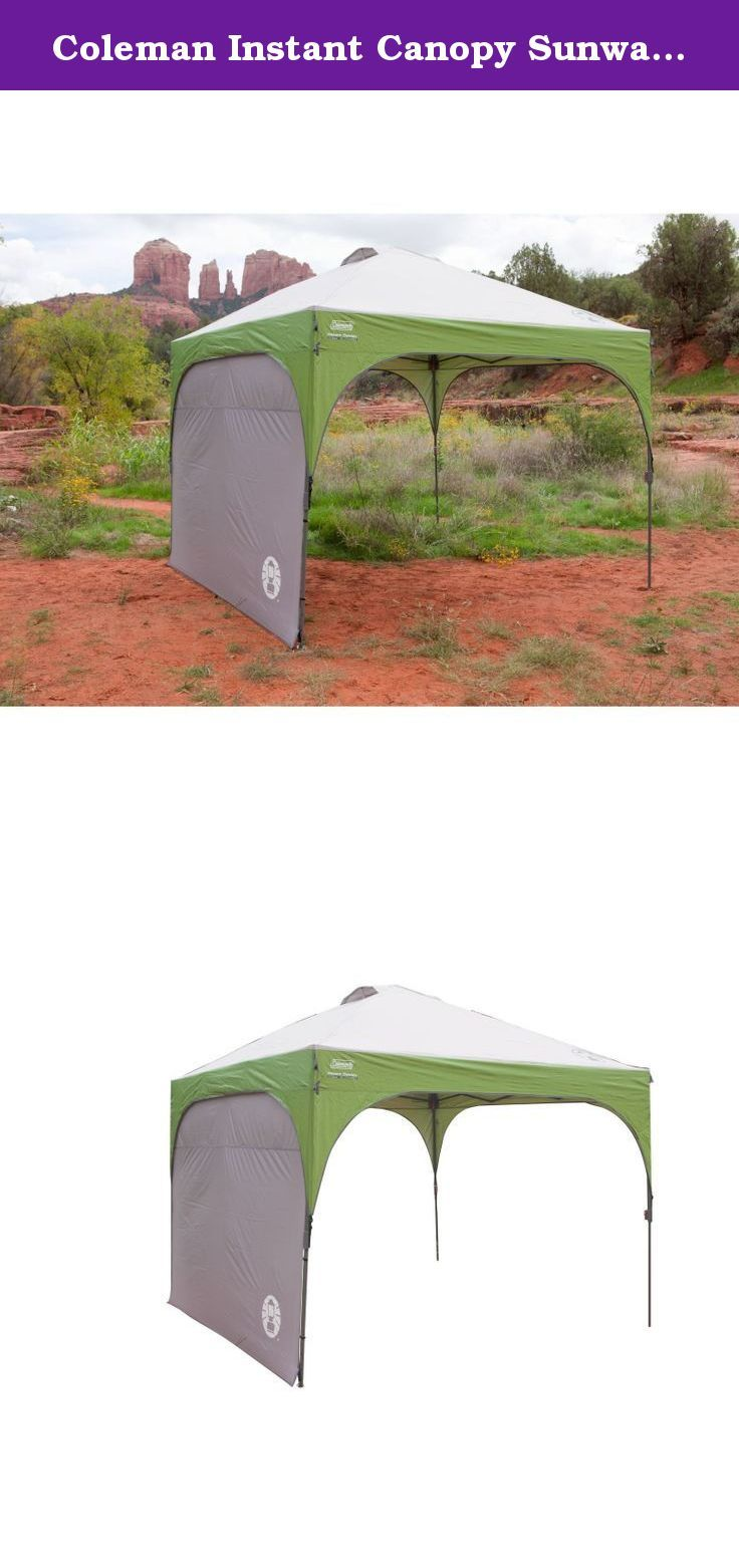 Canopy · Coleman Instant Canopy Sunwall ...  sc 1 st  Pinterest & Coleman Instant Canopy Sunwall - Accessory Only. Add more shade ...