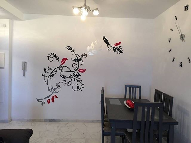Vinilo para pared personalizado #decoracion #rotulacion #pegatinas
