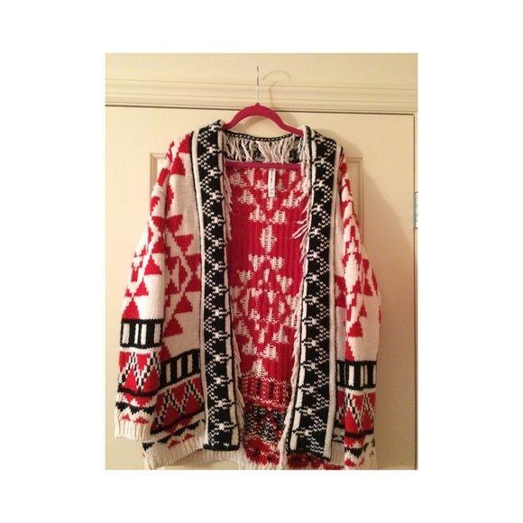 Heavy Tribal Cardigan Tribal Cardigan Clothes Design Fashion