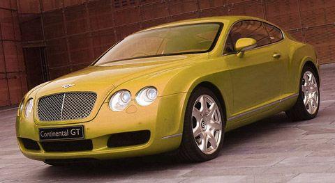 Mobil Bentley Warna Kuning Yang Langka Bentley Mobil Kuning