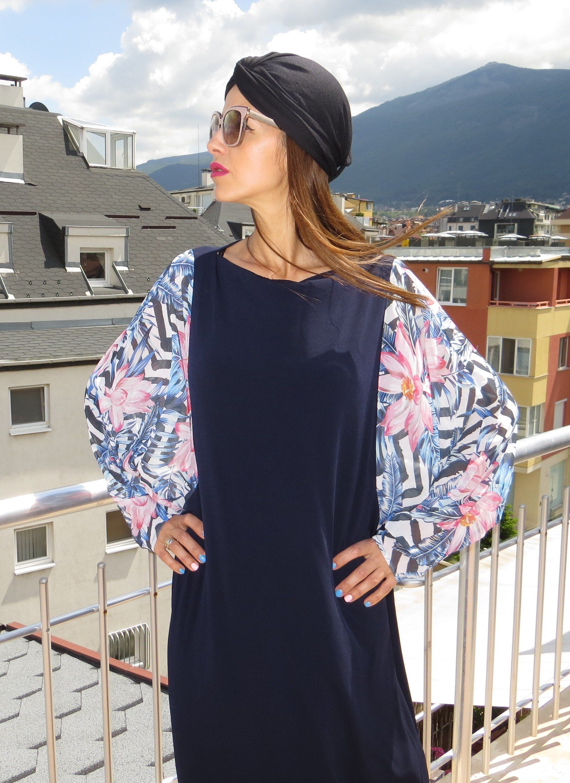4c462996b07 Blue Maxi Dress