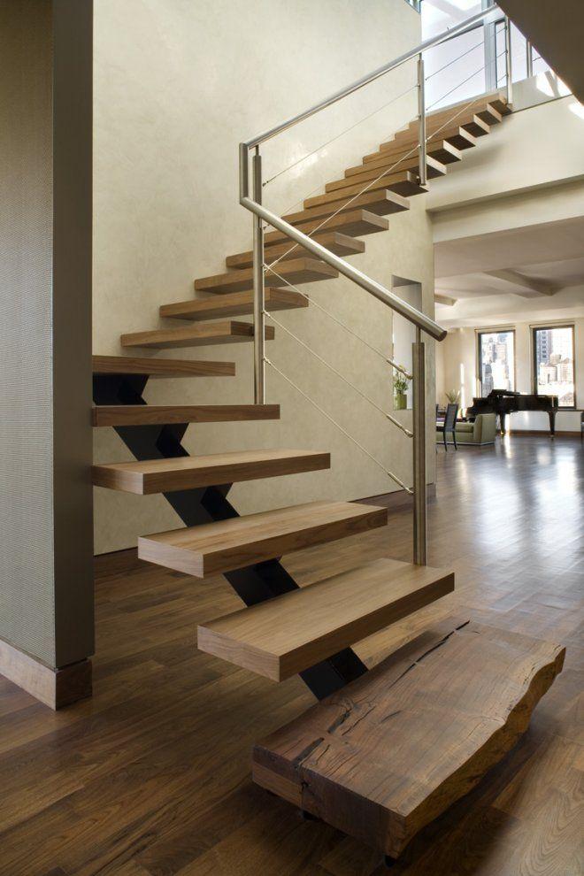 LOVE An Open Riser Staircase