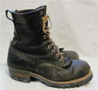 Vintage Red Wing Steel Toe Logger Boot Men sz 8 D | for the feet ...