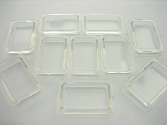 Dollhouse Miniatures Aluminum Rectangle Bakery Platter Tray