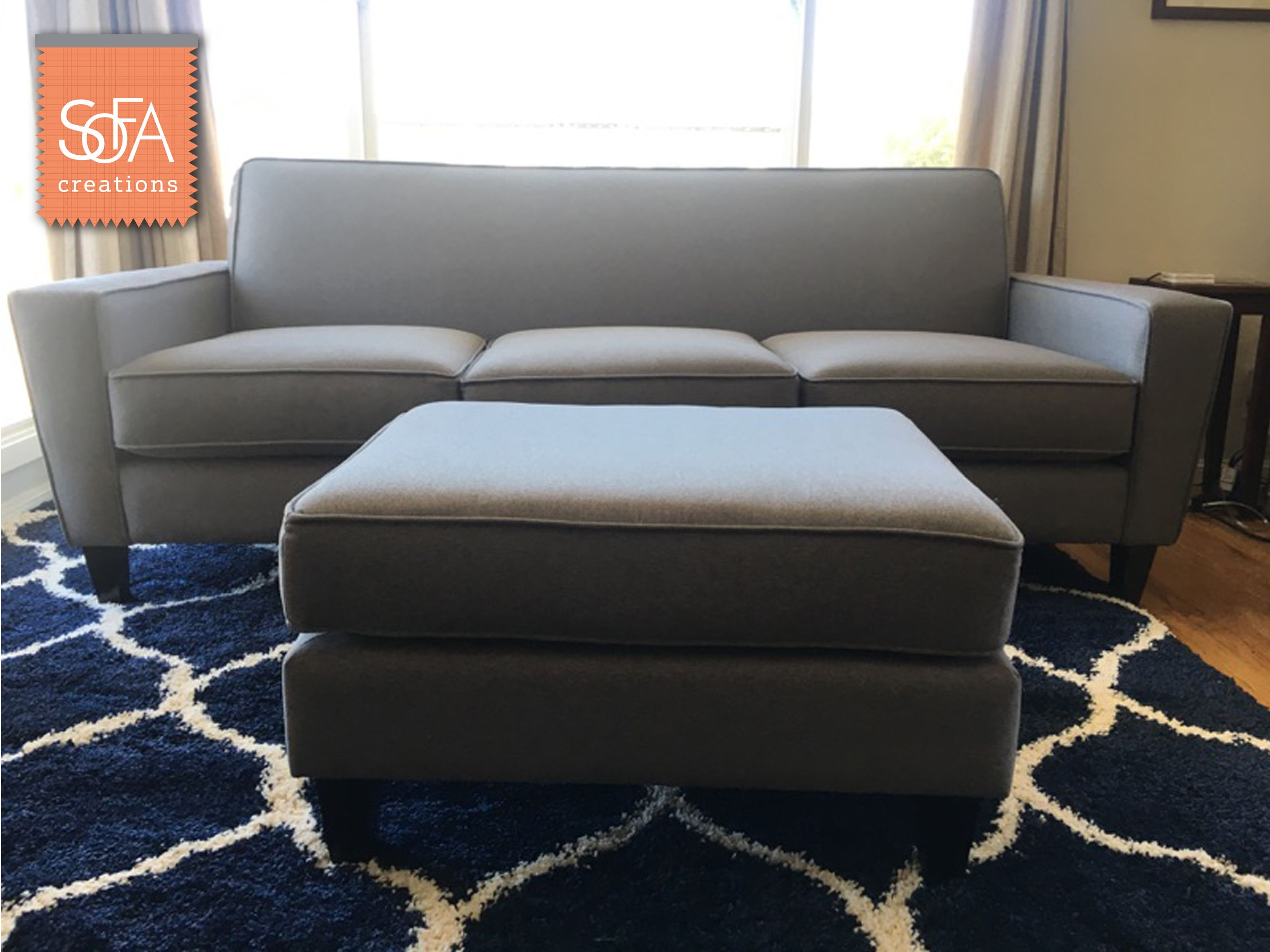 One Of Our New Models The Richmond Sofa Was Just Delivered To One