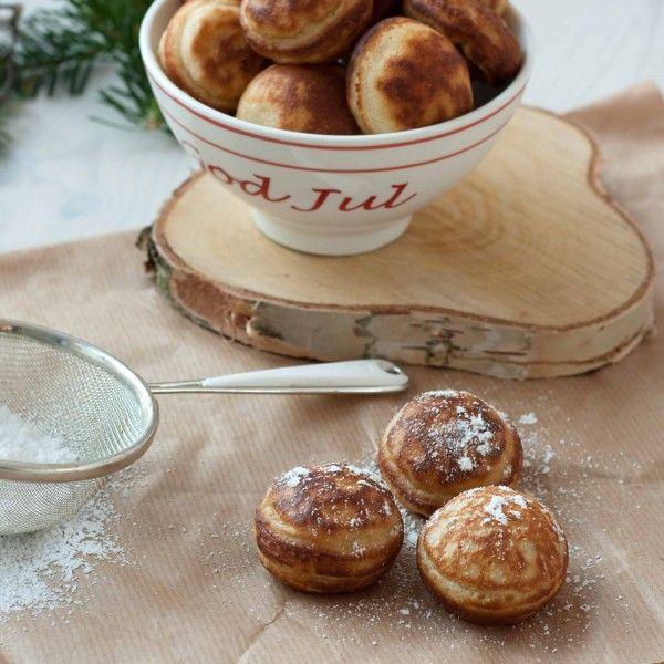 Photo of Original Recipe for Danish Aebleskiver (Danish Pancake Balls)