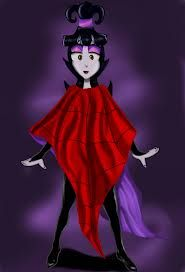 Lydia Deetz From The Cartoon Version Of Beetlejuice Movie Icon