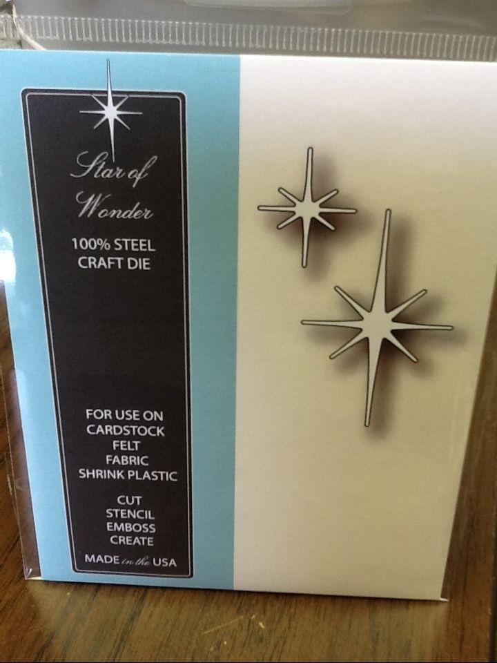 Memory Box STAR OF WONDER metal die, Christmas #MemoryBox