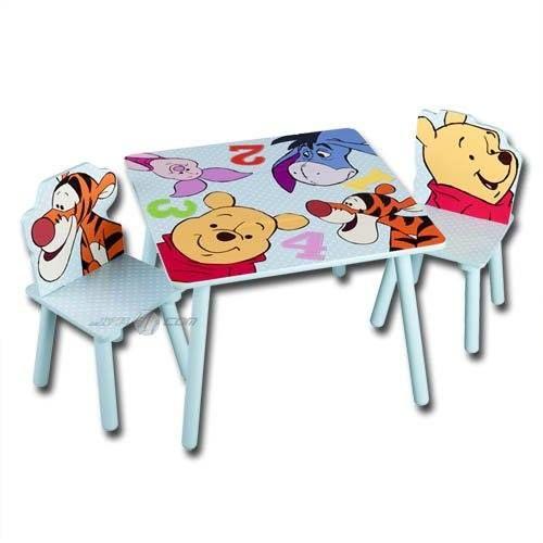 Fur Das Kinderzimmer Kleiner Winnie Pooh Fans Kindertisch Mit 2