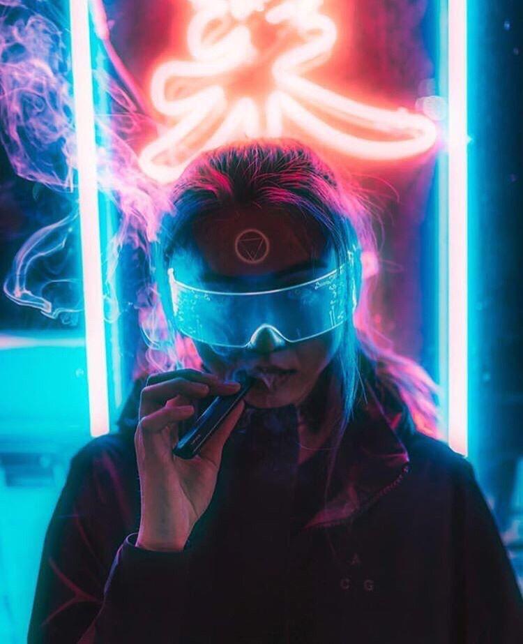 Modified Wenchang Cyberpunk Aesthetic Cyberpunk Art Cyberpunk City
