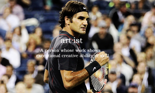 Roger Federer in six words. @JugamosTenis