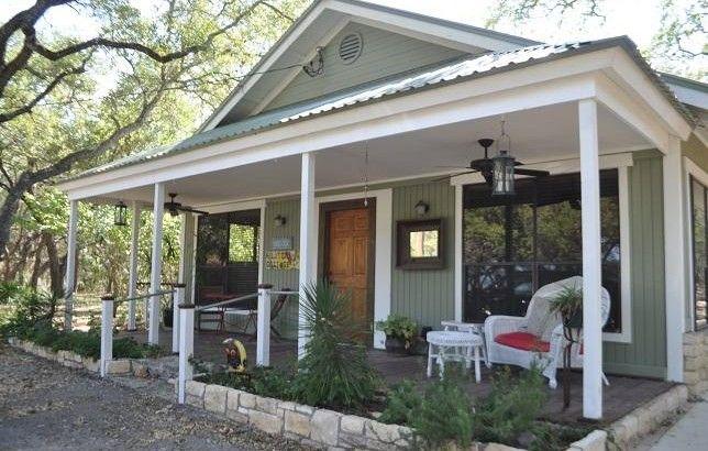 Mystic Hills Hilltop Cottage Texas Hill Country Country Cabin Hill Country Cottage