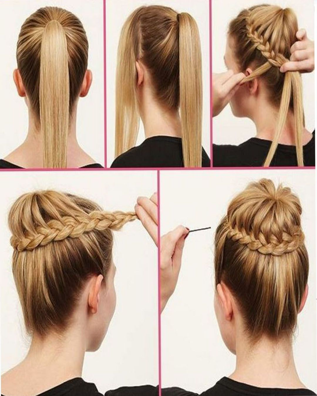 The Classic Top Bun Bun Hairstyles With Pictures Within 5 Steps Everafterguide Hair Styles Hair Bun Tutorial Hair Hacks