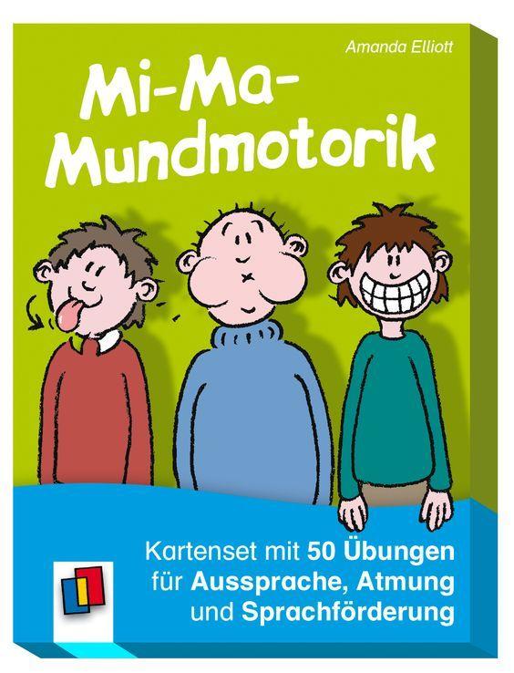 Mi Ma Mundmotorik Logopadie Ubungen Sprachforderung Sprechubungen