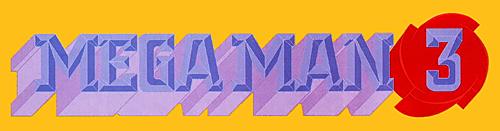 Mega Man 3 Box Logo Video Game Logos Mega Man Mega Man 3