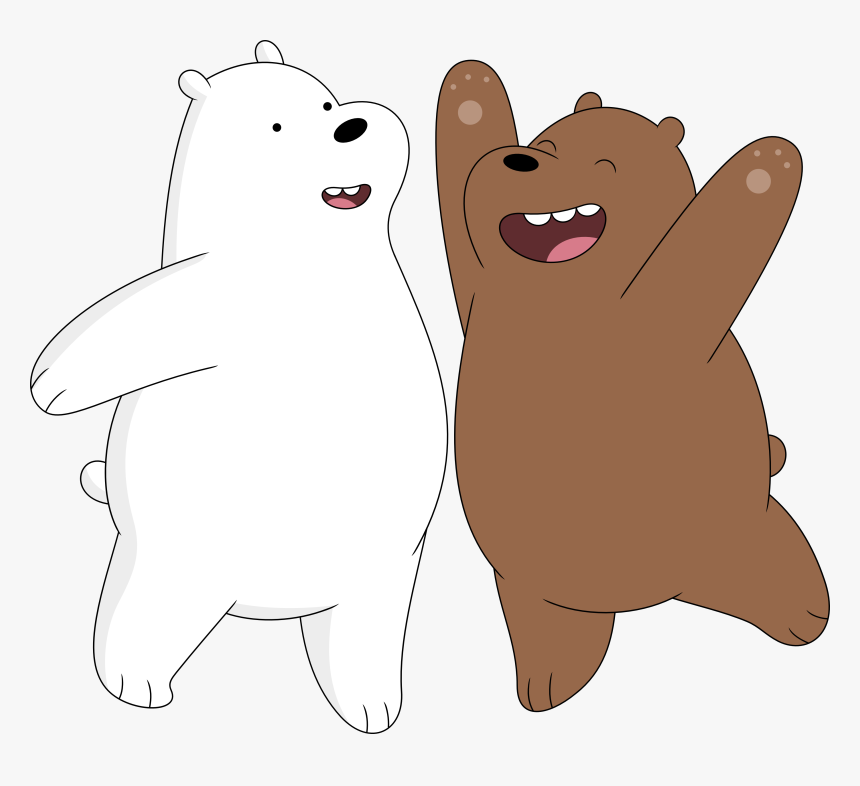 Chicago Drawing Bears Ice Bear And Grizzly We Bare Bears Hd Png Download Ice Bear We Bare Bears We Bare Bears Wallpapers Bare Bears