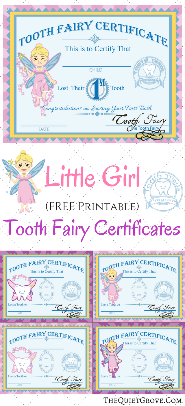 Free Printable Tooth Fairy Certificates Tooth Fairy Certificate Tooth Fairy Letter Tooth Fairy