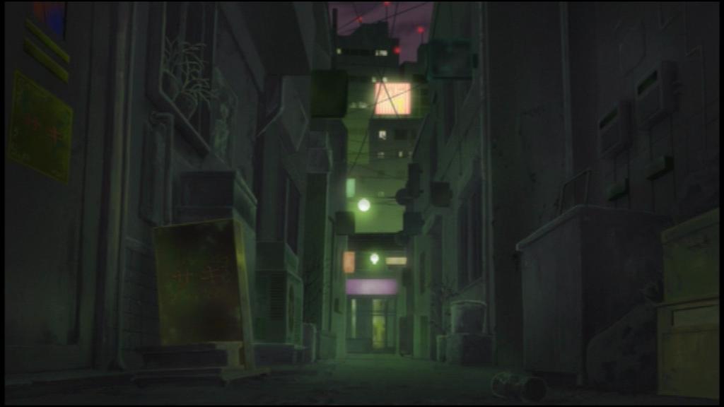 Darker Than Black Anime I Think Creepy Alleyway Is Creepy