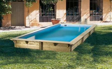 Piscine bois Miami - 486 x 336 x 120 m Swimming Pool