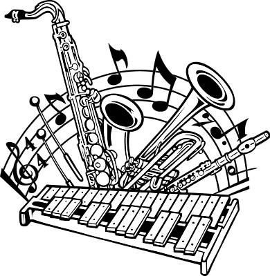 Marching Band Clipart Clarinet Marching Band C...
