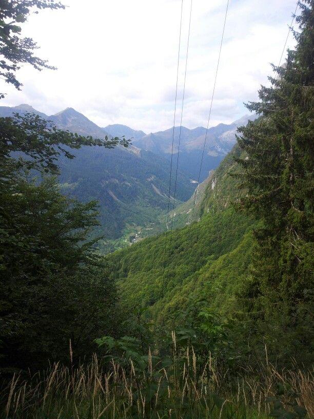 Italy - Austria border view