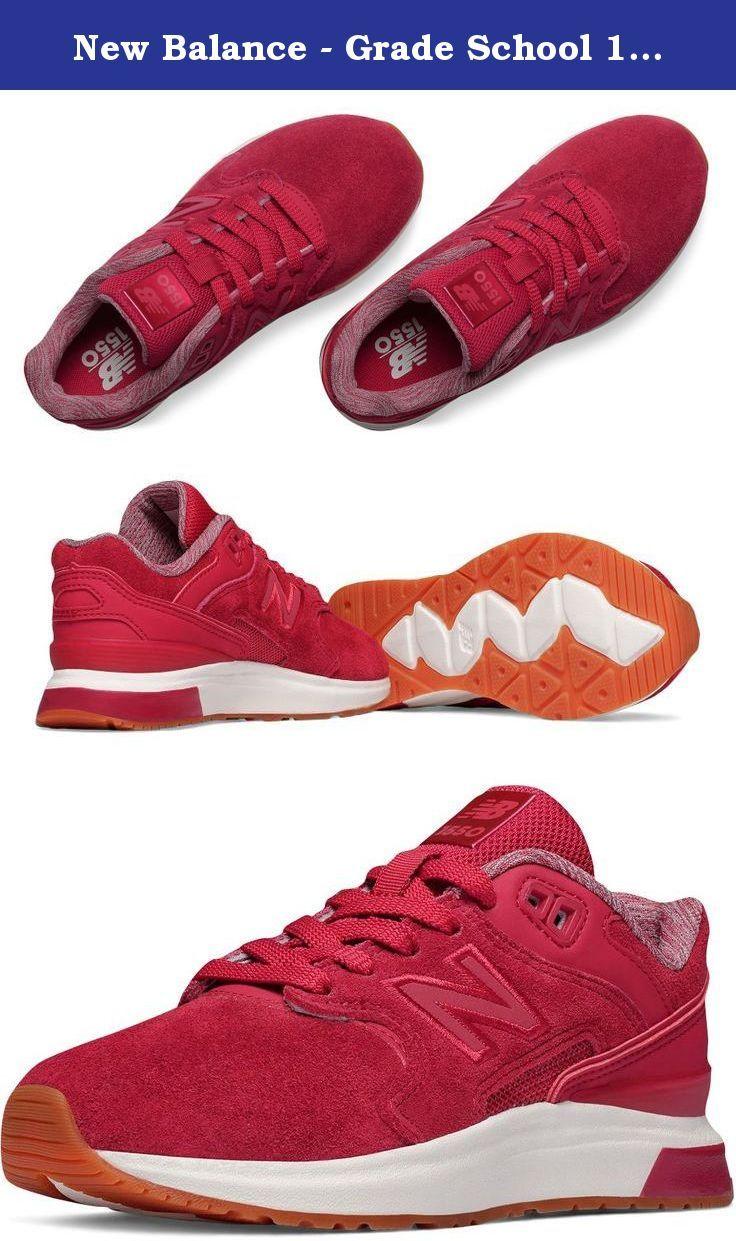 88a065631ec5c New Balance - Grade School 1550 Suede Shoes, Size: 6 M US Big Kid, Color:  Red.