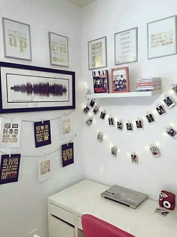 One Direction Diy Room One Direction Bedrooms Room Decor