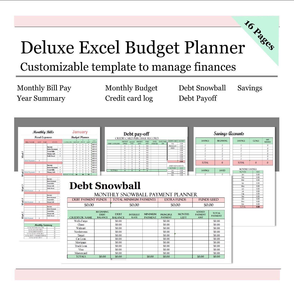 Finance Budget Planner