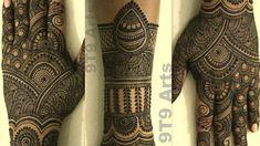 New Bridal Mehndi Design for Full Hand||Back Hand Mehndi Designs||Easy Dulhan Mehndi Design for Hand