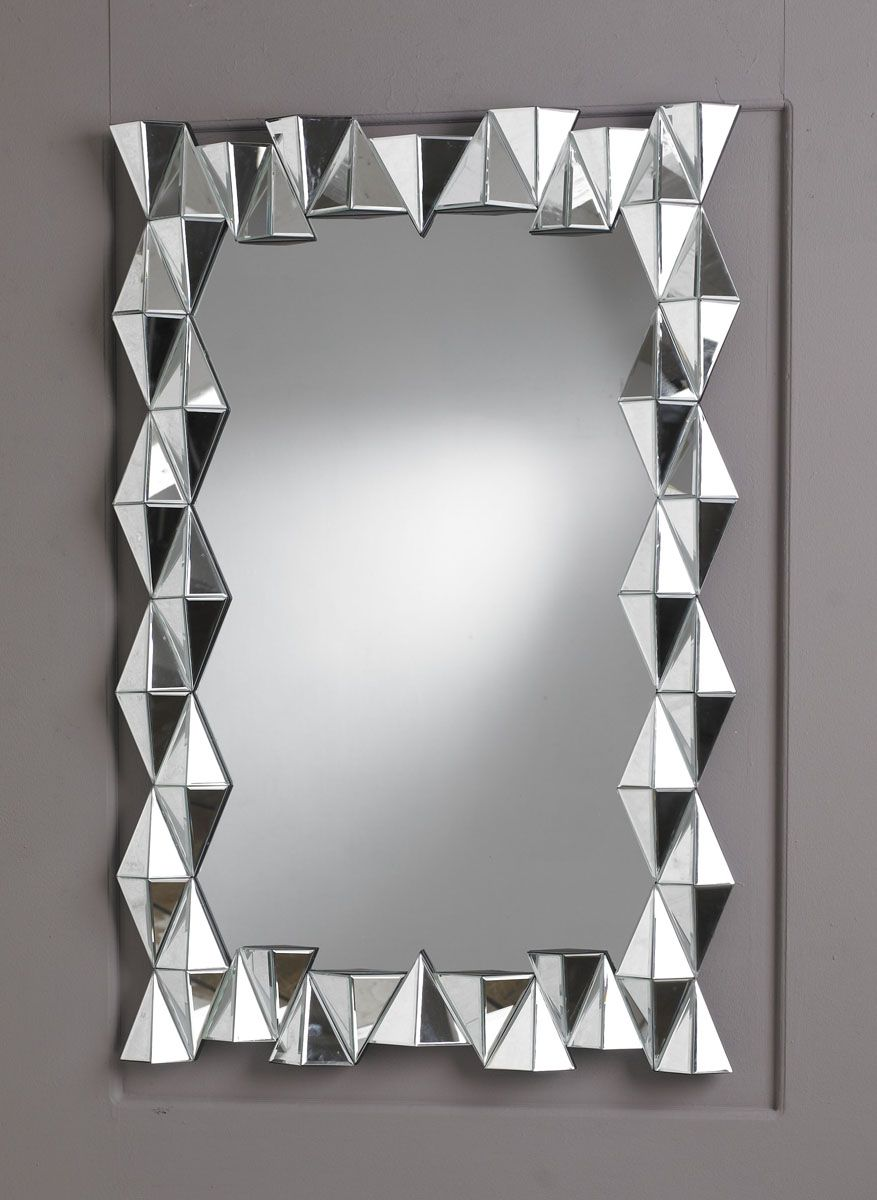 this is a striking contemporary mirror it features a border  - this is a striking contemporary mirror it features a border overlaying themain mirror which