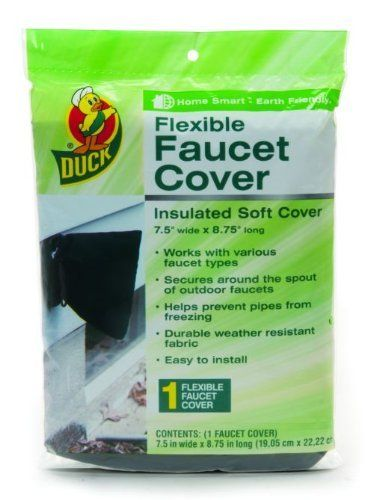 Duck Brand 280462 Insulated Soft Flexible Faucet Cover for Freeze ...