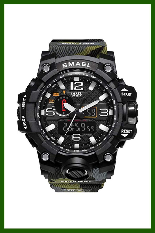Relojes Militares Smael Relojes Militares Hombre Smael Reloj Militar Reloj Deportivo Relojes Deportivos Hombre