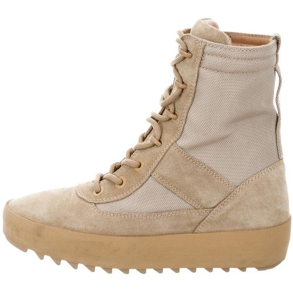 ec7c232e278 Pre-owned Yeezy Season 3 Military Boots ( 495) ❤ liked on Polyvore  featuring shoes