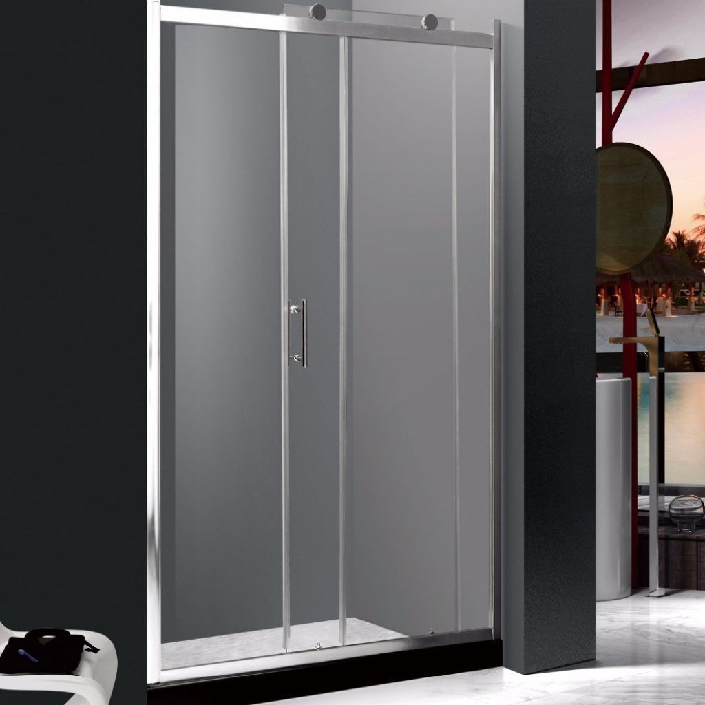 Attractive Plexiglass Pivot Shower Door