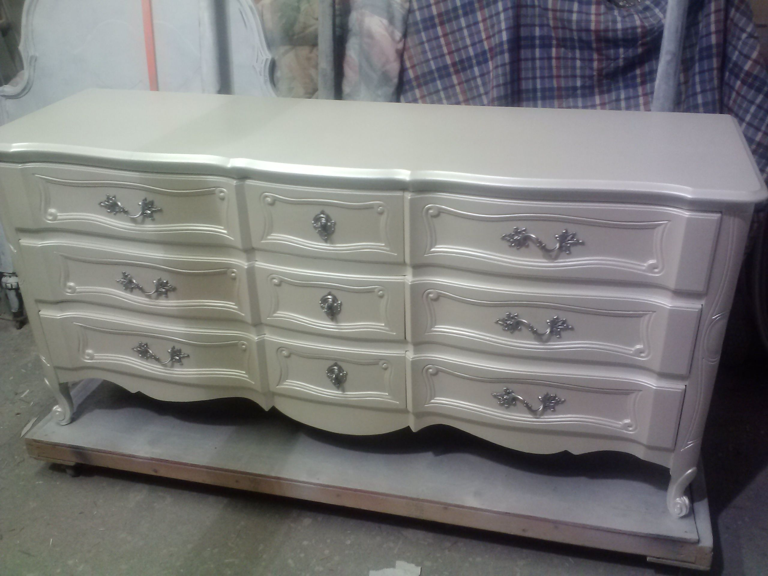 up a with metallic dresser bronze your glam painted how furniture to add glaze