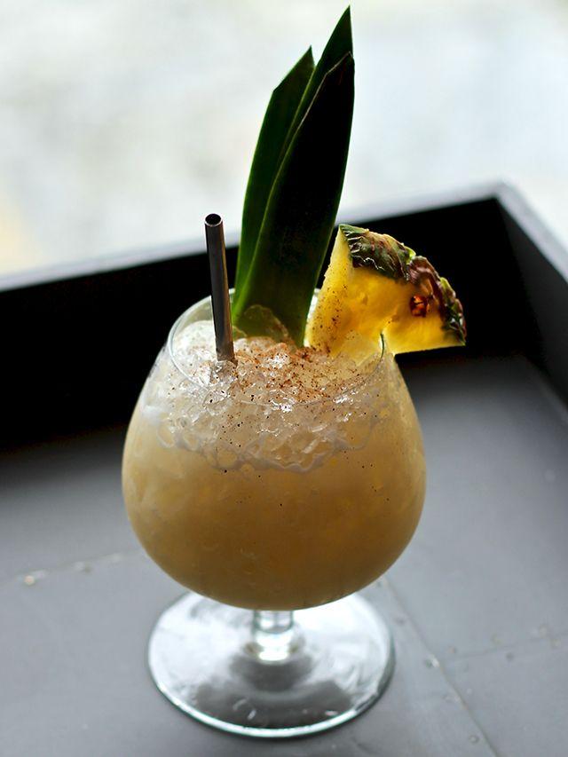 Home Bar Brandy Tiki Alexander Happy Hour Pinterest