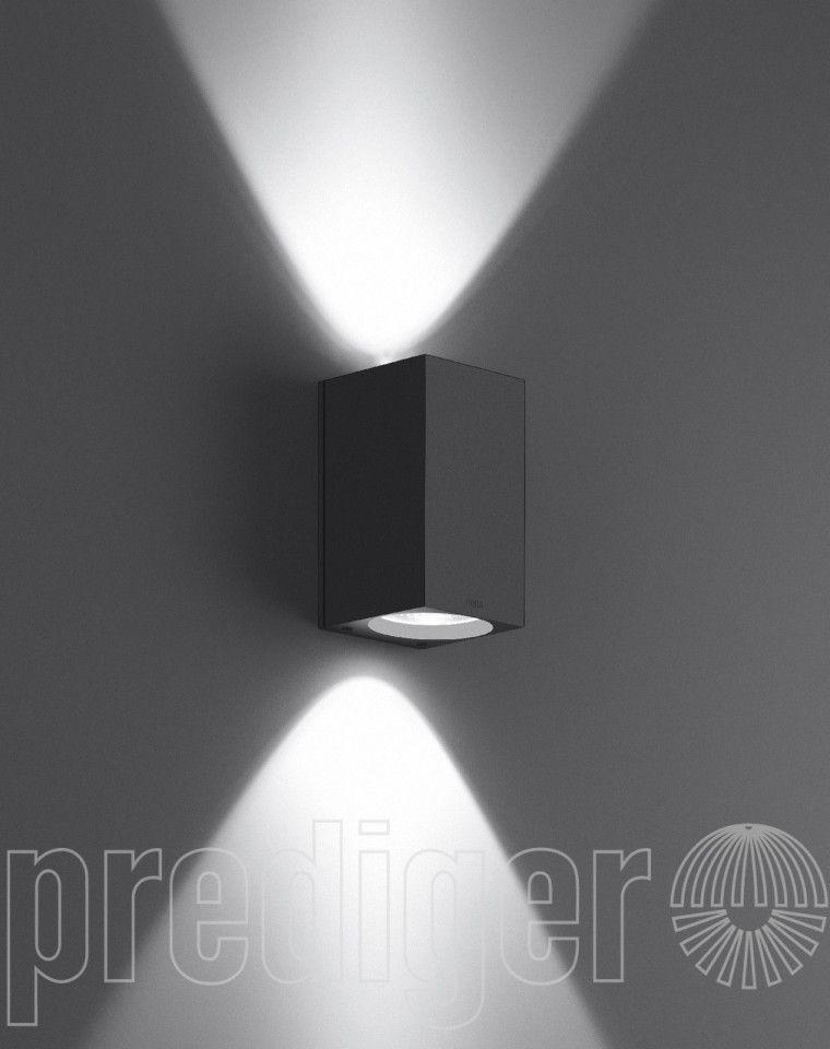 Bega Wandleuchten Mit Zweiseitigem Lichtaustritt Fur Halogenlampen Wandleuchte Led Warmweiss Licht