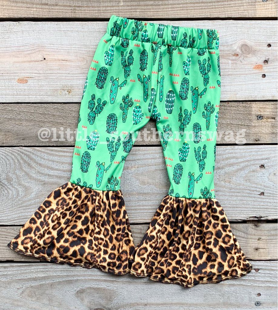 cd14d5356a2a2 Swag Cactus Bells #cactus #fallfashion #bellbottoms #leopard Baby Momma, My  Baby