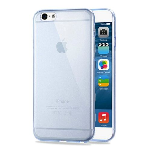 [USD0.71] [EUR0.67] [GBP0.52] HAWEEL 0.3mm Zero Series Transparent TPU Protective Case for iPhone 6 & 6s (Blue)