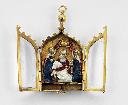 A reliquary pendant europe ca 1400 ad reliquaries pinterest a reliquary pendant europe ca 1400 ad aloadofball Image collections