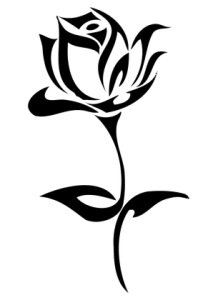 999 Flower Clipart Black And White Free Download Cloud Clipart Rose Stencil Flower Art Images Black And White Drawing