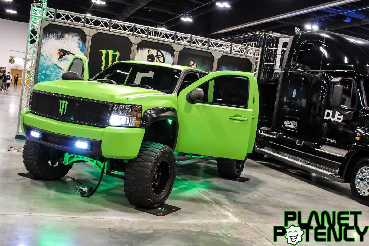 Badass Monster Energy Truck At Dub Show Tour In Atl Monster