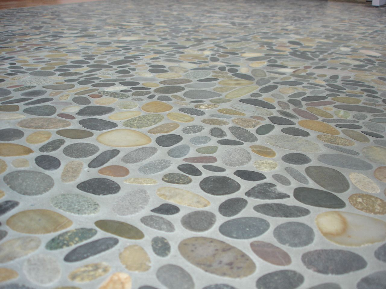 Captivating River Rock Tile Flooring U2013 | Home Interior Design IdeasHome .