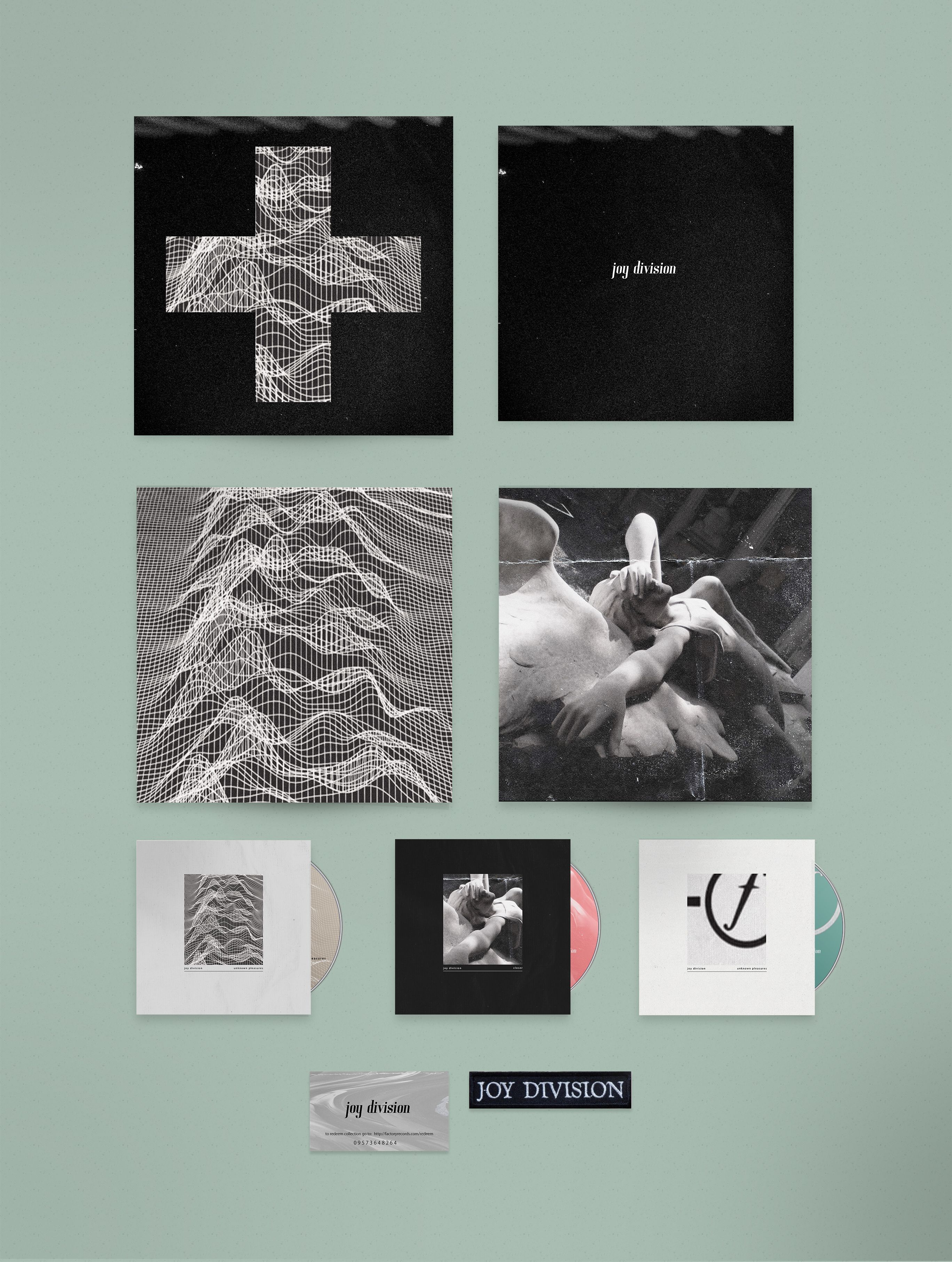 Made for a school project requiring a box set of a retired band or musician.The + - Collection is a reboot of the 2007 Joy Division box set. It's a more valuable, cohesive collection commemorating Joy Division and their music. + - is a collectable item…