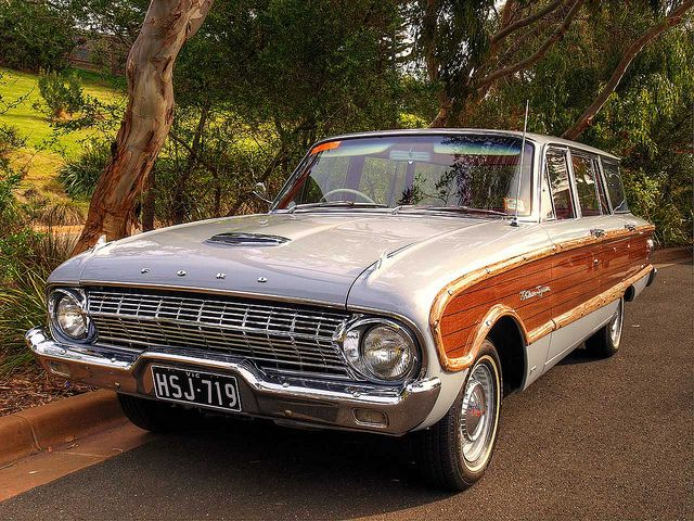 1963 Ford Xl Country Squire Wagon Ford Falcon Car Ford Woody Wagon