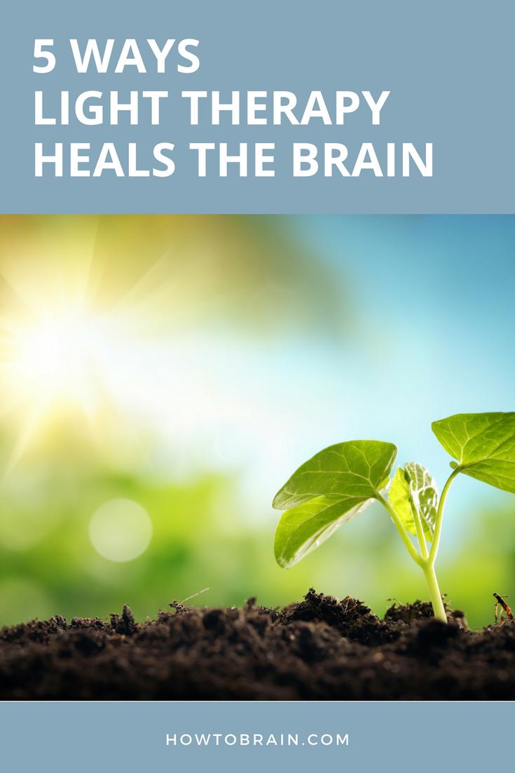5 Ways Light Therapy Heals The Brain Brain Injury
