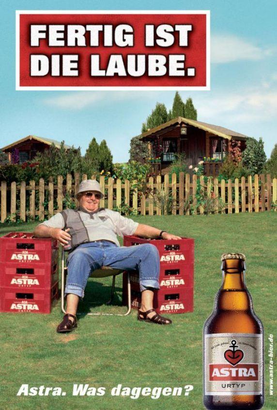 Fertig ist die Laube! | Astra-Sammlung | Pinterest ...