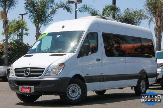 Pacific Auto Center >> 2013 Mercedes Benz Sprinter Passenger Vans Wdzpe8cc8d5782240